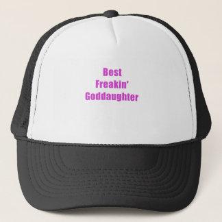 Best Freakin Goddaughter Trucker Hat