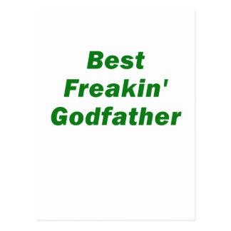 Best Freakin Godfather Postcard