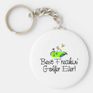 Best Freakin Golfer Ever (1) Keychain