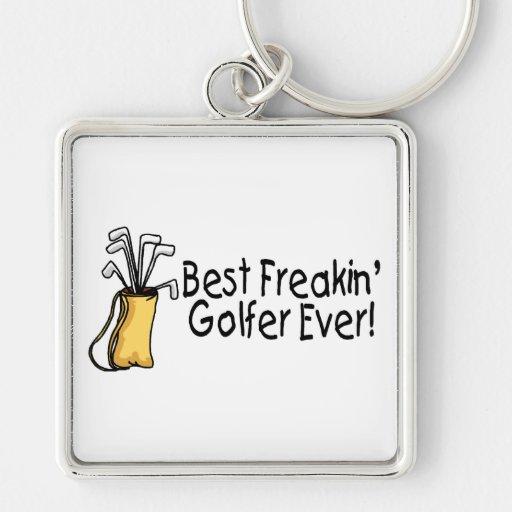 Best Freakin Golfer Ever (2) Keychains