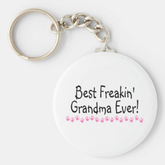 Best Freakin Grandma Ever Key Chains