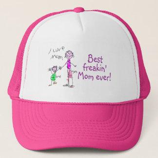 Best Freakin Mom Ever 2 Trucker Hat