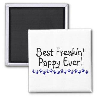 Best Freakin Pappy Ever Magnet