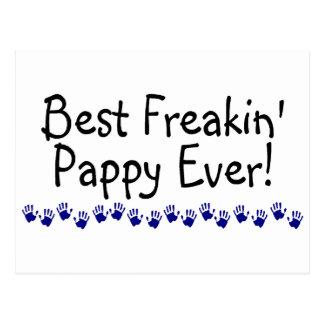 Best Freakin Pappy Ever Postcard
