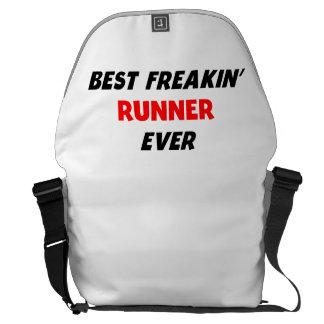 Best Freakin' Runner Ever Messenger Bag