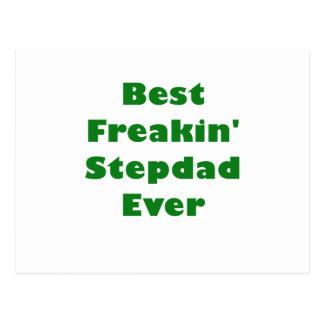 Best Freakin Stepdad Ever Postcard