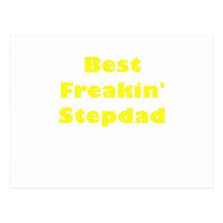 Best Freakin Stepdad Postcard