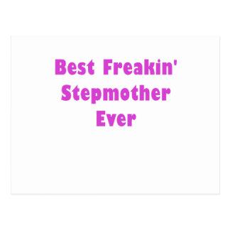 Best Freakin Stepmother Ever Postcard