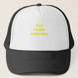 Best Freakin Stepmother Trucker Hat