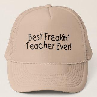 Best Freakin Teacher Ever 2 Trucker Hat