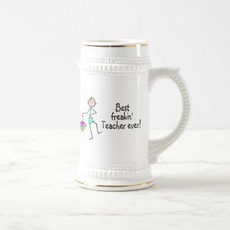 Best Freakin Teacher Ever Coffee Mug