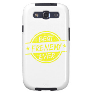Best Frenemy Ever Yellow Galaxy S3 Cases