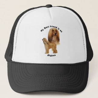 Best Friend Afghan Trucker Hat