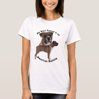 Best Friend American Bulldog T-Shirt