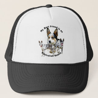 Best Friend Australian Koolie Merle Trucker Hat