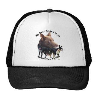 Best Friend Australian Koolie Solid Colours Trucker Hat