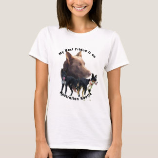 Best Friend Australian Koolie Solid Colours T-Shirt