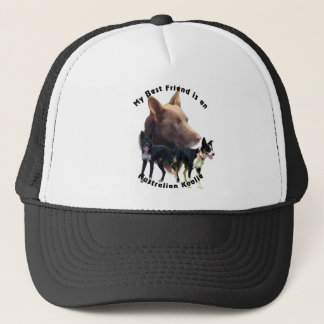 Best Friend Australian Koolie Solid Colours Trucker Hat