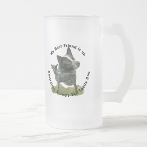 Best Friend Australian Stumpy Tail Mugs