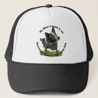 Best Friend Australian Stumpy Tail Trucker Hat