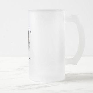 Best Friend Australian terrier Frosted Glass Beer Mug