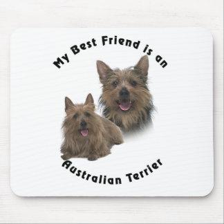 Best Friend Australian terrier Mouse Pads