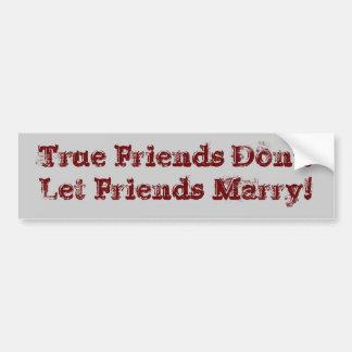 Best Friend Car Bumper Sticker