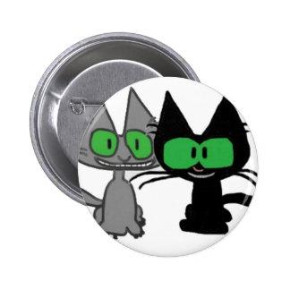 Best Friend Cats Button
