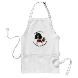 Best Friend Cavalier King Charles Adult Apron