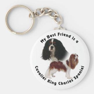 Best Friend Cavalier King Charles Key Chain