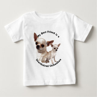 Best Friend Chihuahua Shorthaired Baby T-Shirt
