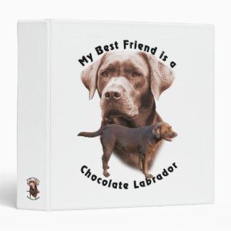 Best Friend Choc Lab2 Binder