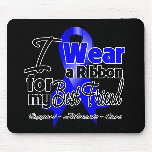 Best Friend - Colon Cancer Ribbon Mouse Pads