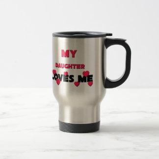 Best Friend Daughter 15 Oz Stainless Steel Travel Mug