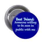 Best Friend Defined Pinback Button