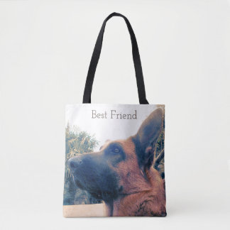 Best Friend. Dog. Tote Bag