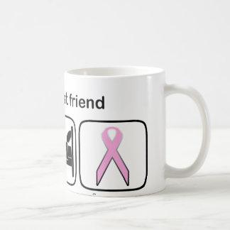 Best Friend Eat Sleep Hope - Breast Cancer Coffee Mug