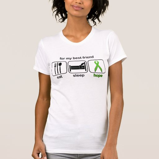 Best Friend Eat Sleep Hope - Lymphoma Tshirts