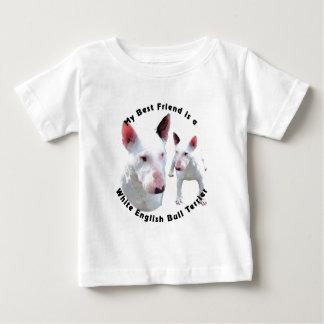 Best Friend English Bull Terrier White Shirt
