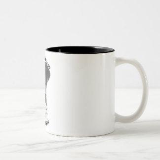 Best Friend English Pointer BW Two-Tone Coffee Mug