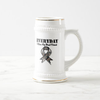 Best Friend - Everyday I Miss My Hero Military Beer Stein