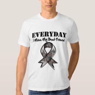 Best Friend - Everyday I Miss My Hero Military Shirt
