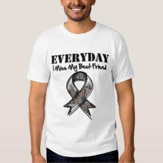 Best Friend - Everyday I Miss My Hero Military T-shirt
