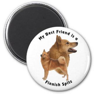Best Friend Finnish Spitz Magnet