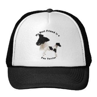 Best Friend Fox Terrier B7W Trucker Hat