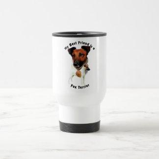 Best Friend Fox Terrier (Red/White) Travel Mug