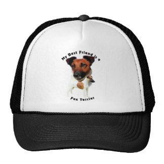 Best Friend Fox Terrier (Red/White) Trucker Hat