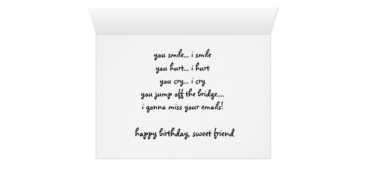 best friend funny birthday card talking giraffes card – Best Friend Birthday Cards Funny