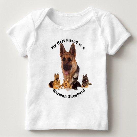 Best Friend German Shepherd Baby T-Shirt
