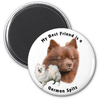 Best Friend German Spitz 2 Magnet